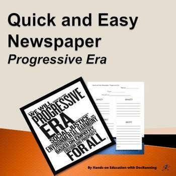 Progressive era essay introducing